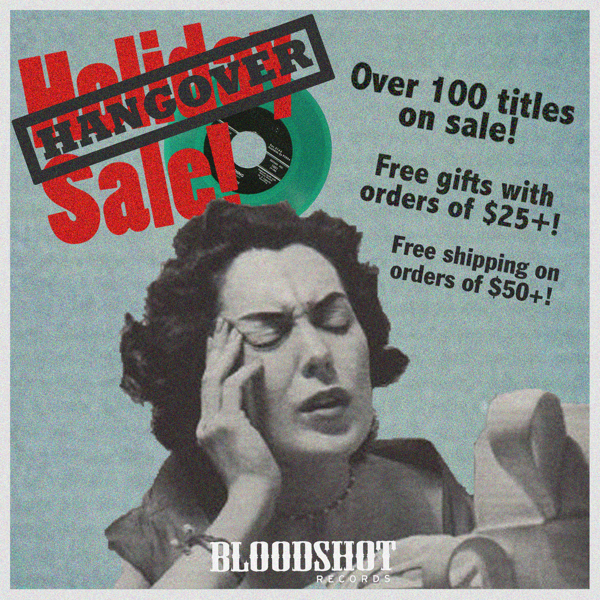 2018 Bloodshot Records Holiday Hangover Sale 3