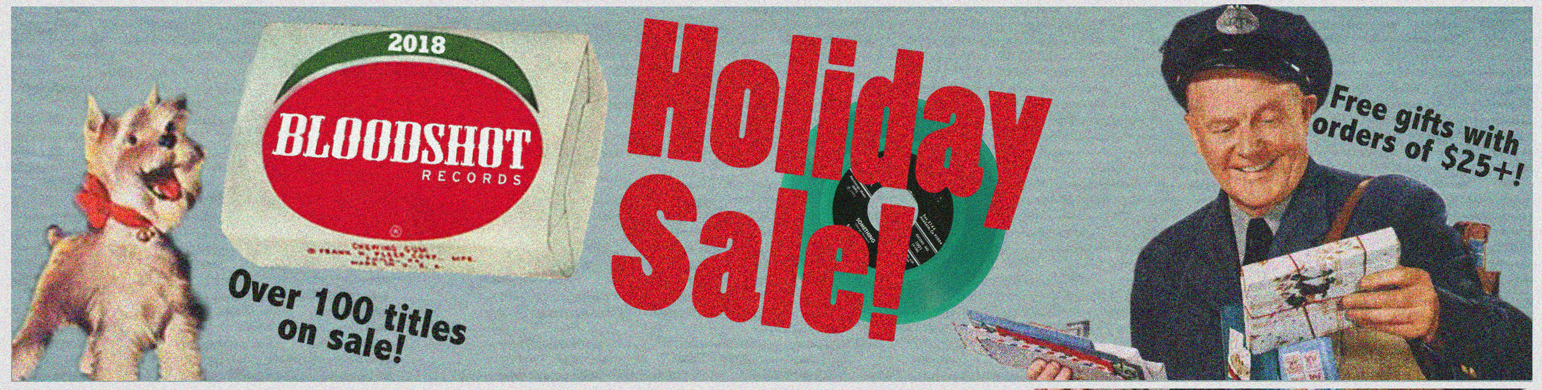 2018 Bloodshot Records Holiday Sale