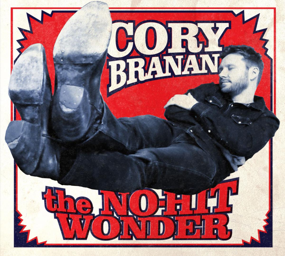 Cory Branan The No-Hit Wonder Album Art Cover