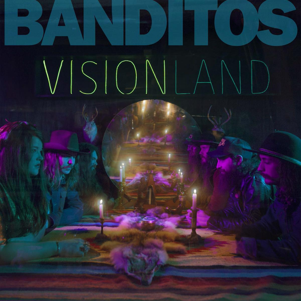 Banditos Visionland Album Cover Art