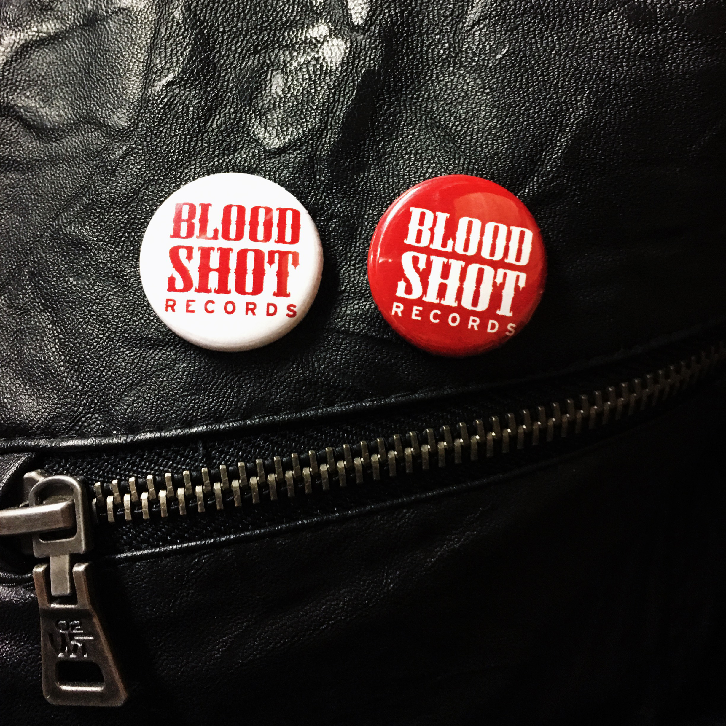 Bloodshot records button set