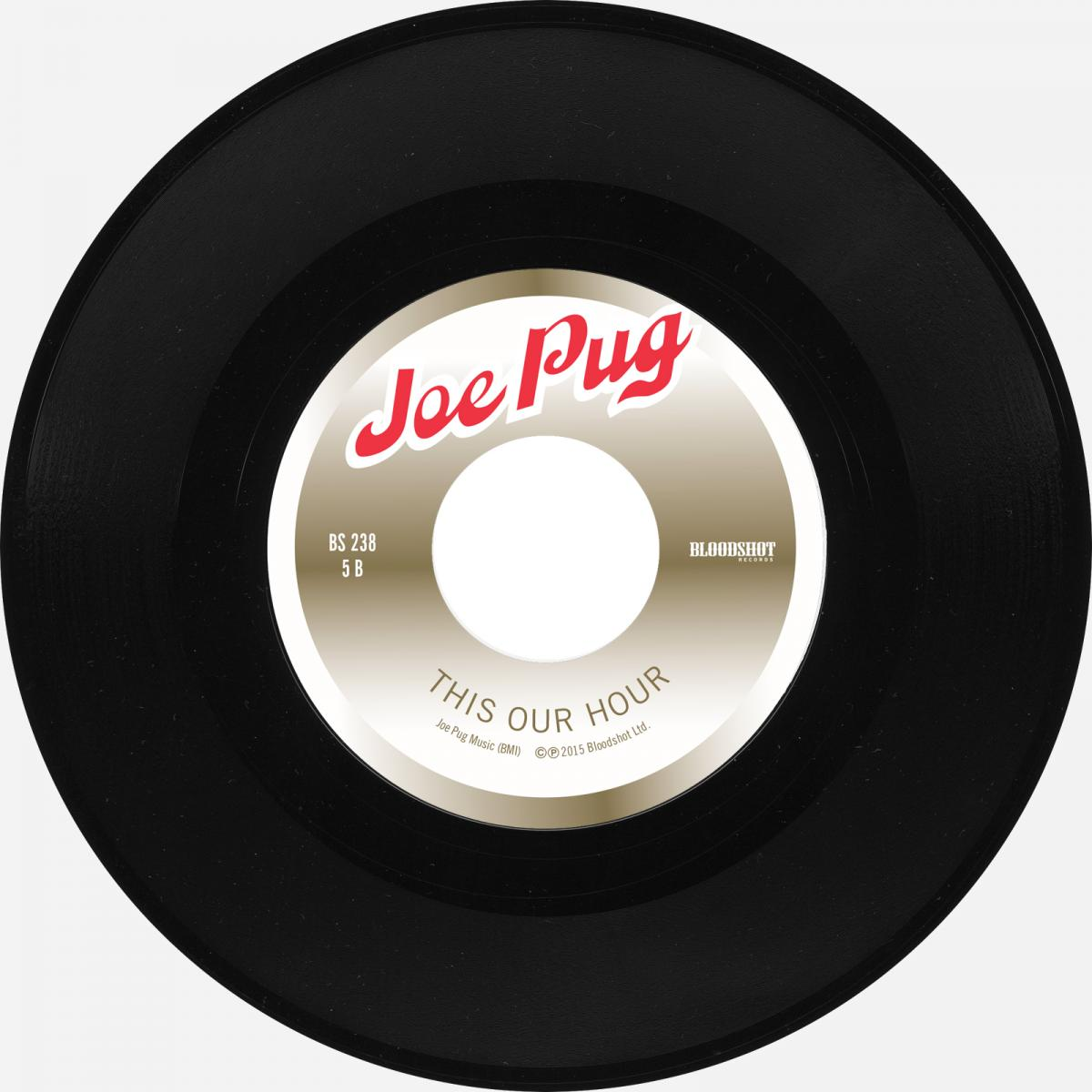 "Joe Pug This Our Hour Bloodshot Six Pack to Go 7"" Single"