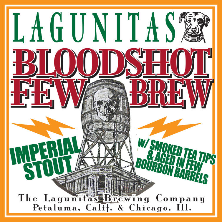 Lagunitas Bloodshot Records Few Brew
