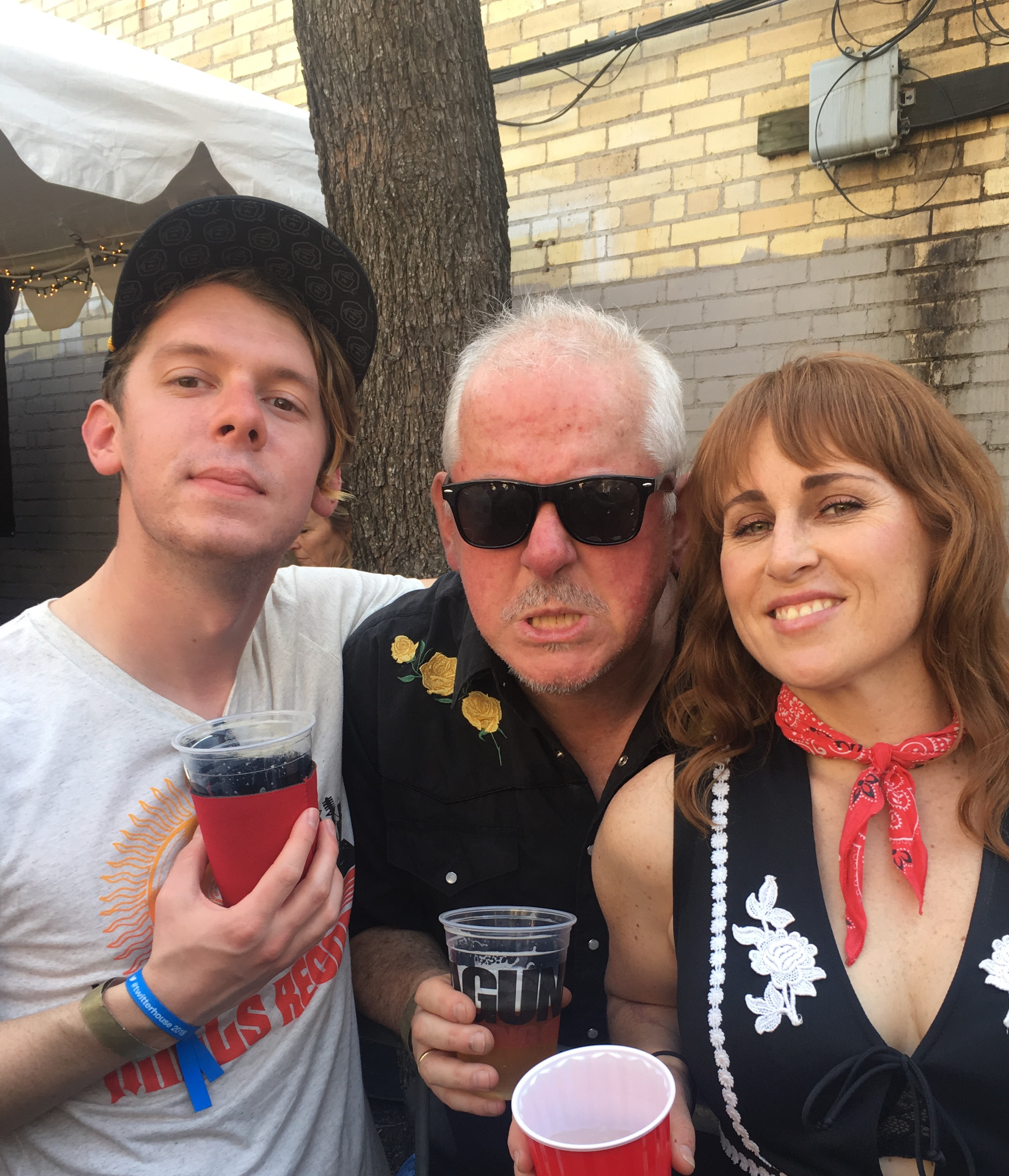 Jon Langford Ruby Boots Bloodshot Yard Dog SXSW 2018