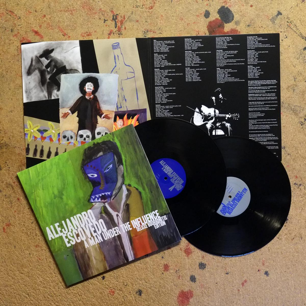 Alejandro Escovedo Man Under the Influence Vinyl