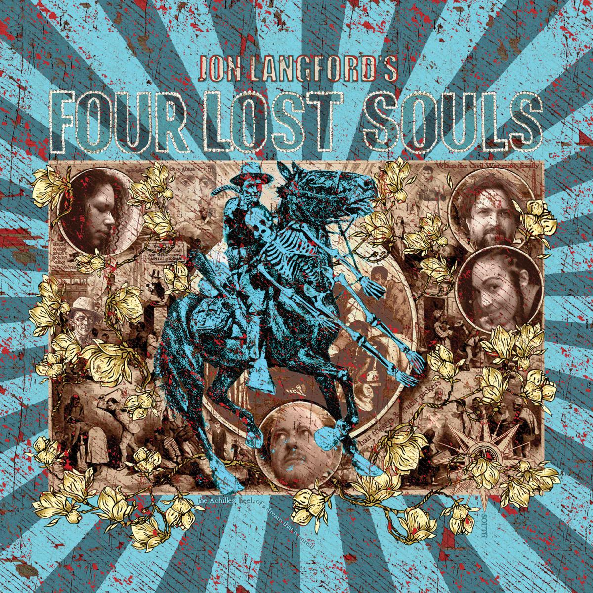 Jon Langford's Four Lost Souls Album art
