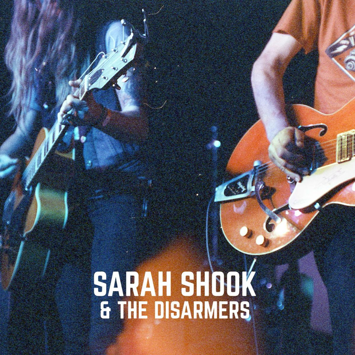 "Sarah Shook & the Disarmers The Way She Looked at You Devil May Care 7"" Single Art"