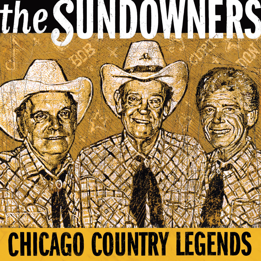Country Music City Stock Photos Country Music City Stock: The Sundowners: Chicago Country Legends