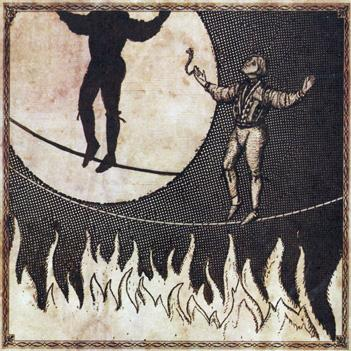 Man on Burning Tightrope