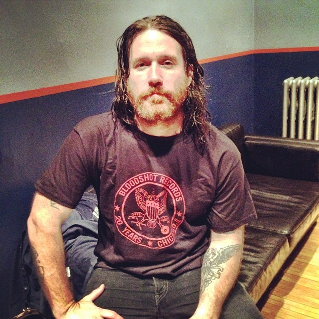 Chuck Ragan Bloodshot 20th Anniversary T-shirt