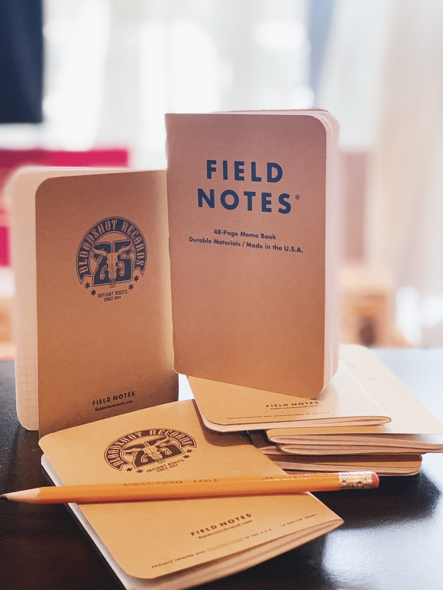Bloodshot Records 25th Anniversary Field Notes Memo Book