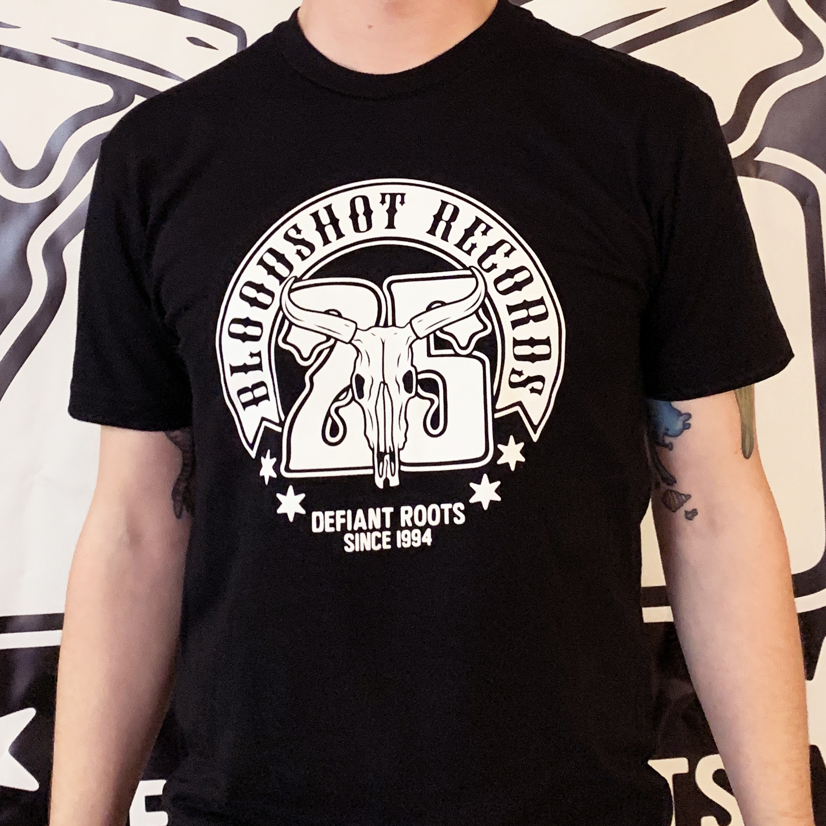 Bloodshot Records 25th Anniversary T-Shirt