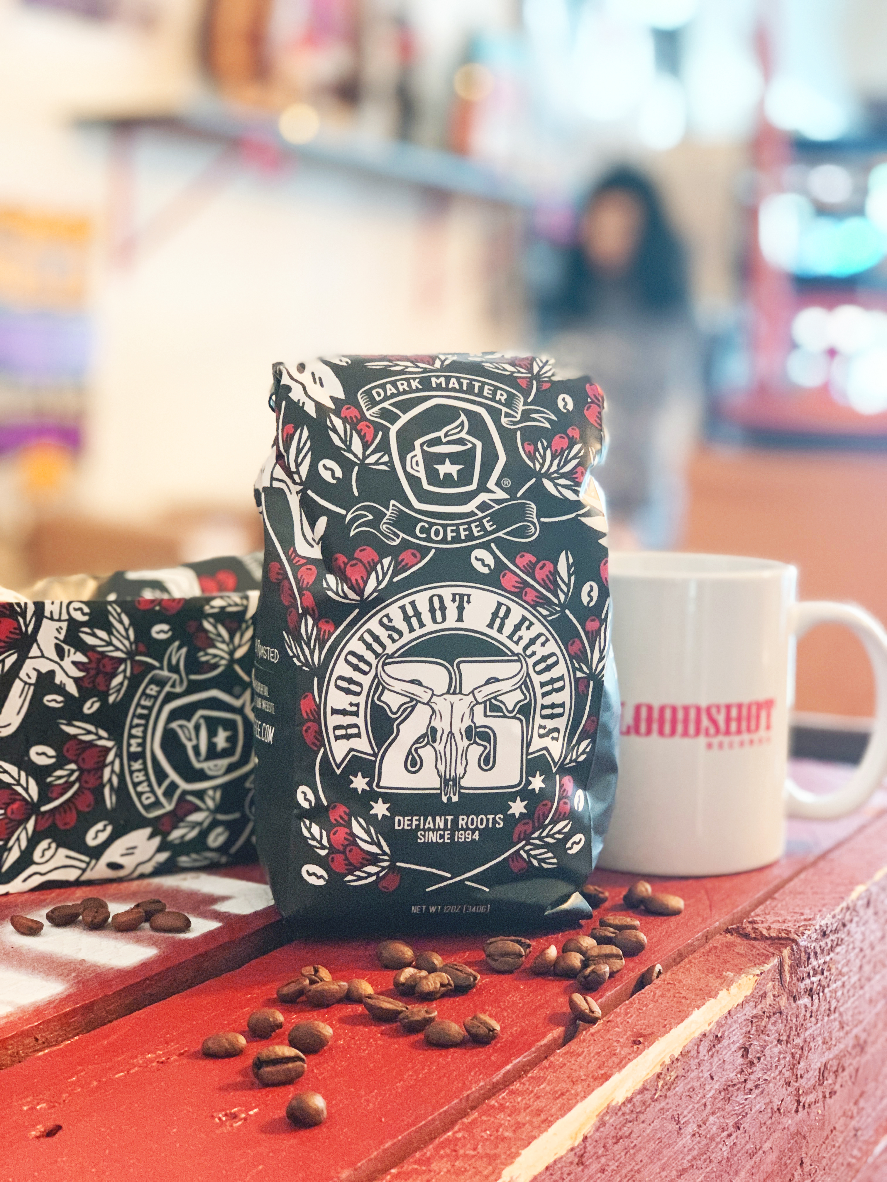 Bloodshot Records 25th Anniversary Dark Matter Coffee