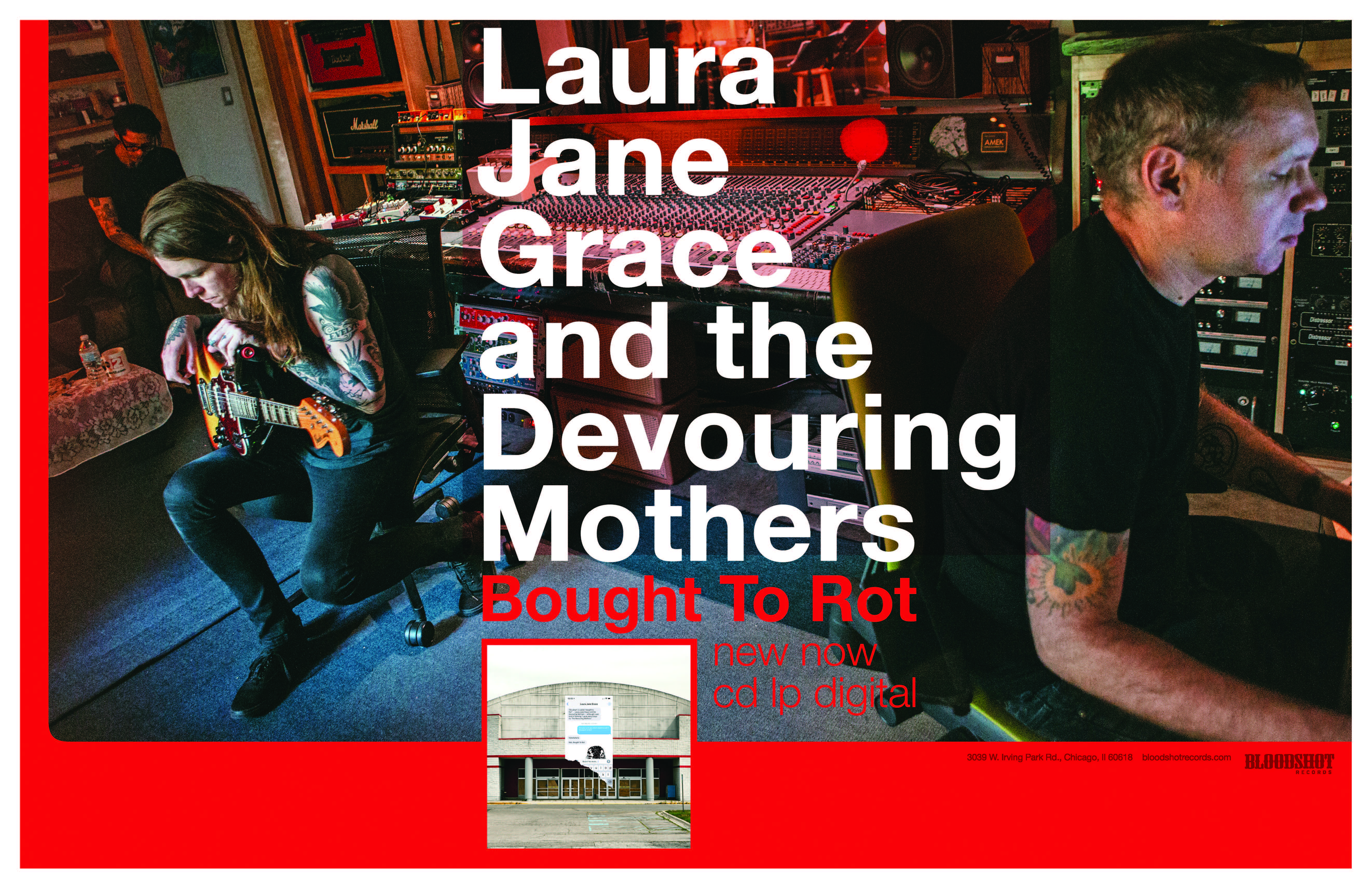 Laura jane Grace and the Devouring Mothers Bought to Rot poster