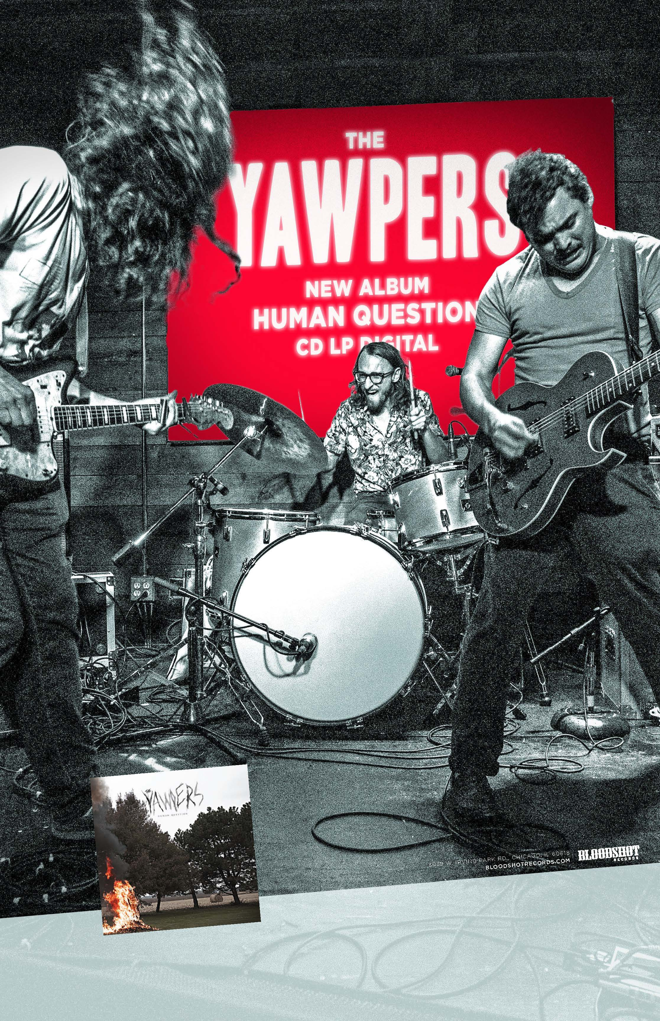 The Yawpers Human Question Poster