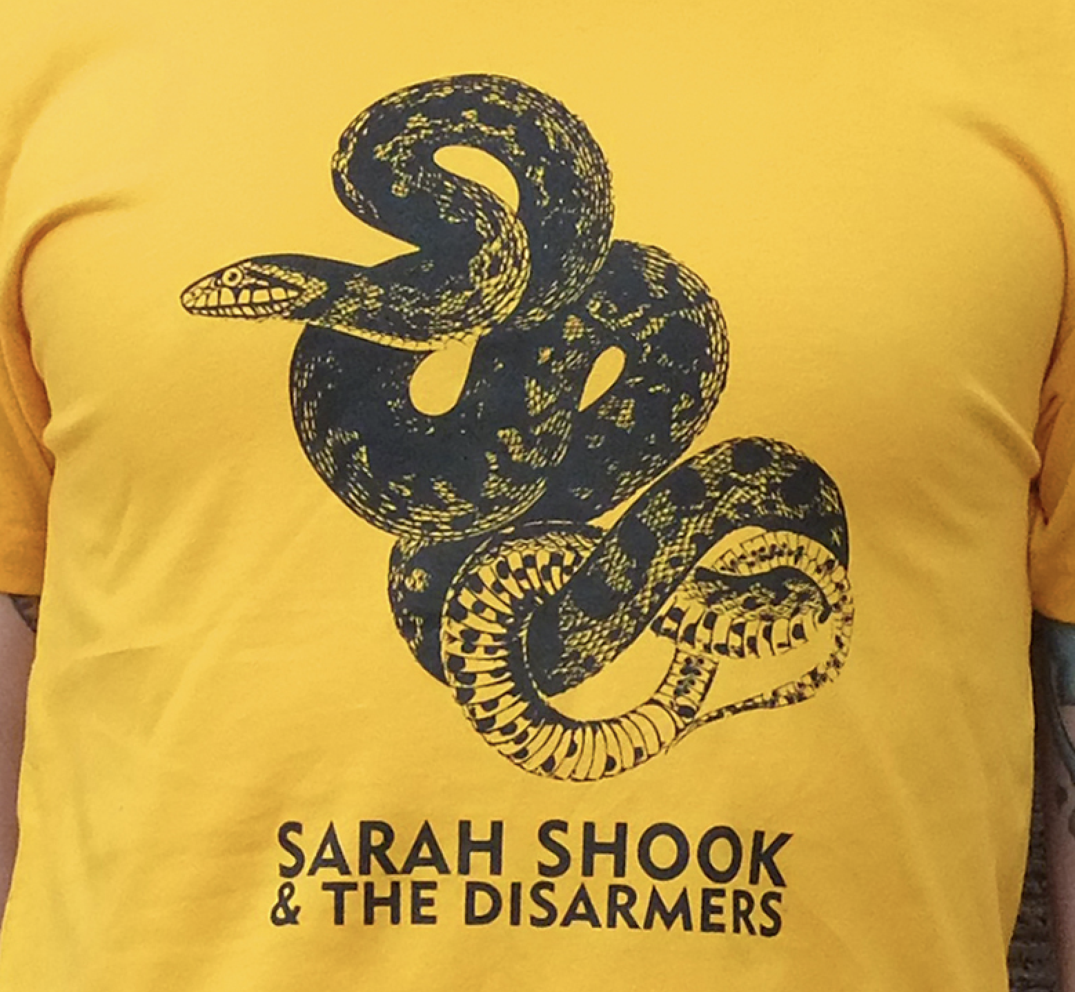 Sarah Shook Snake T-shirt