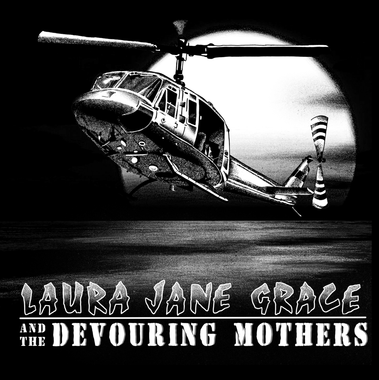 Laura Jane Grace Helicopter T-shirt