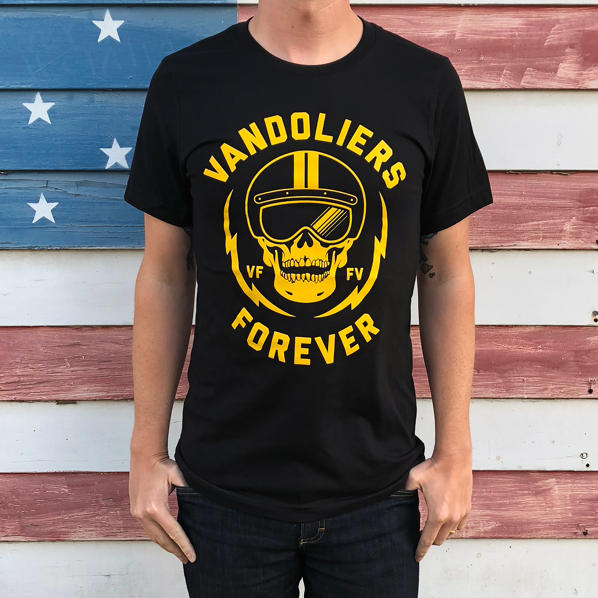 Vandoliers Forever T-Shirt Bloodshot Records