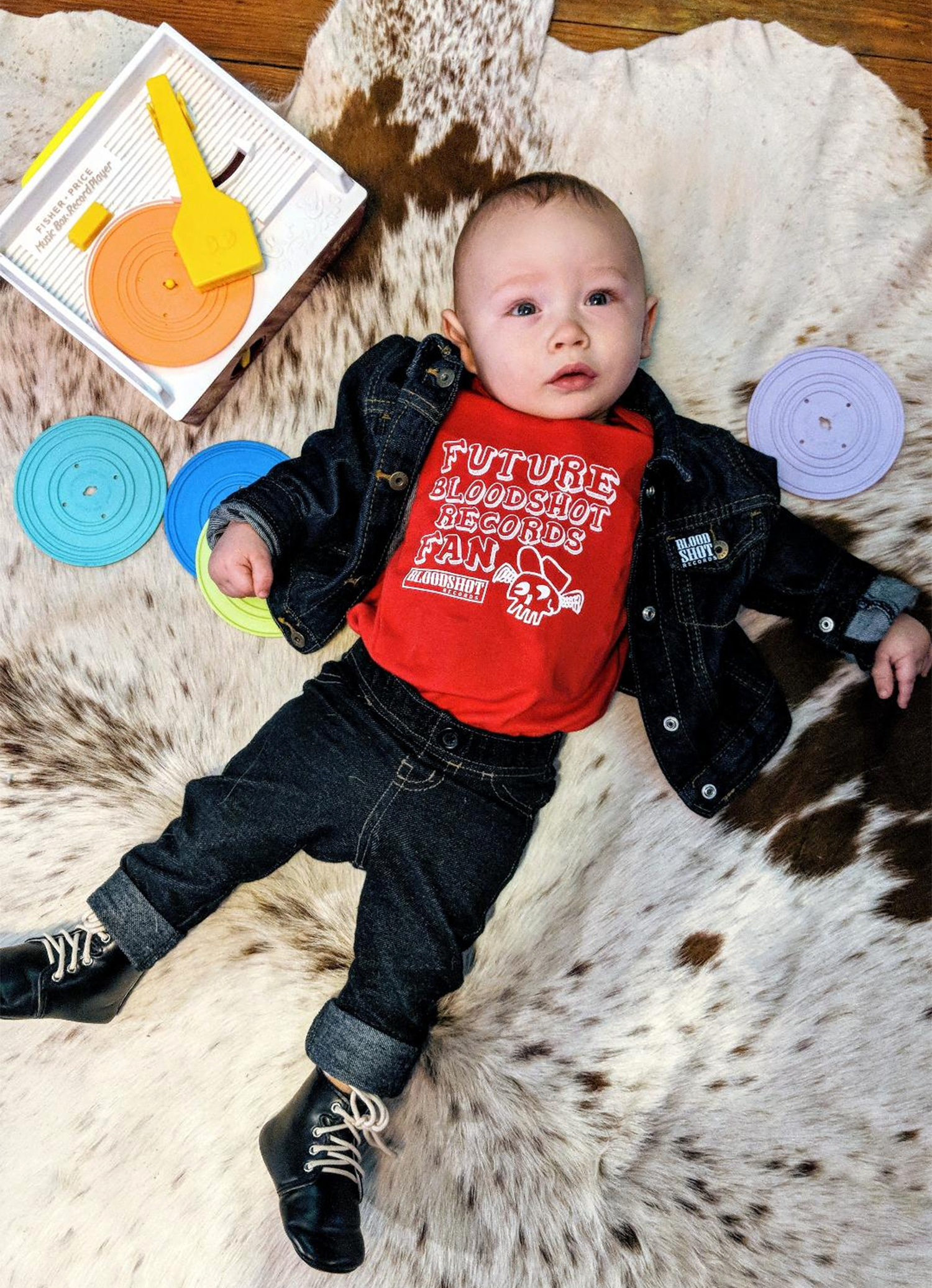 Bloodshot Records Baby Onesie