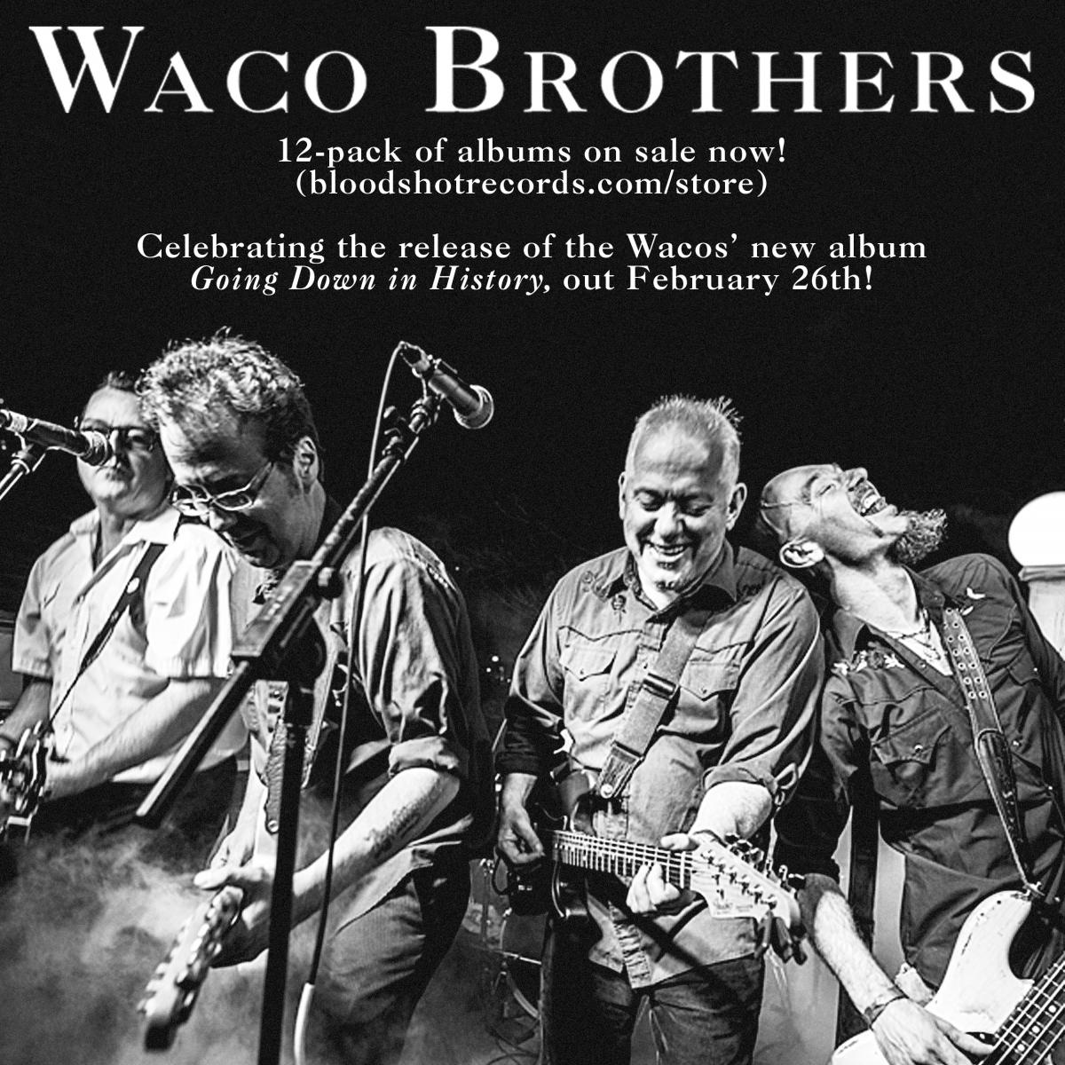 Waco Brothers 12 Pack Sale Bloodshot Records