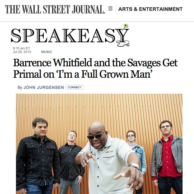 Barrence Whitfield and the Savages Wall Street Journal
