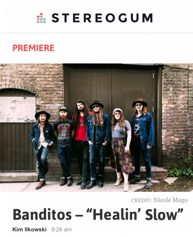 Banditos Healin Slow Stereogum
