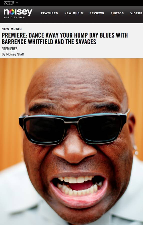 Barrence Whitfield Savages Noisey Vice