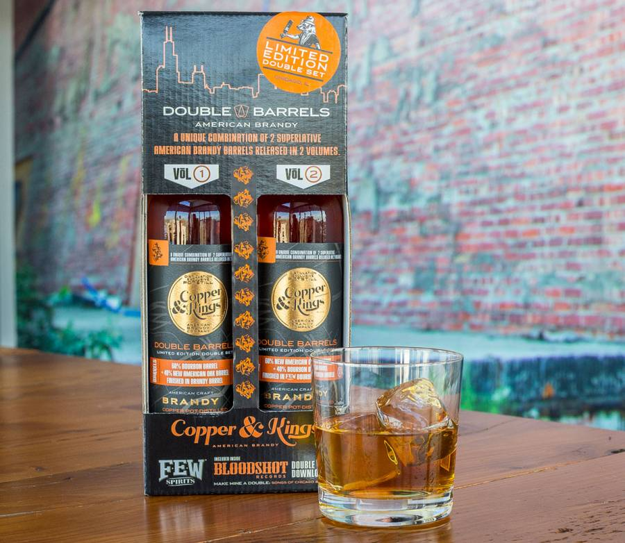 Copper and Kings Brandy Make Mine a Double Bloodshot Records Few Spirits