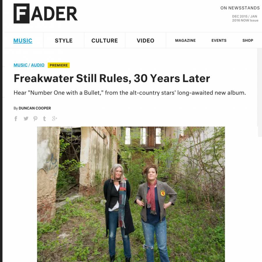 Freakwater The Fader