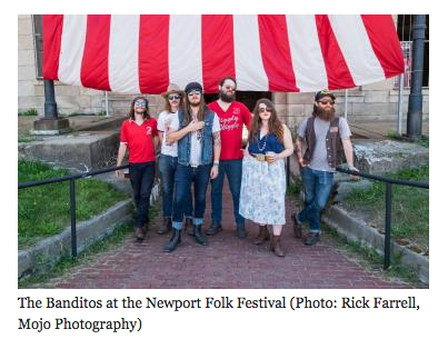 Banditos No Depression Newport Folk festival