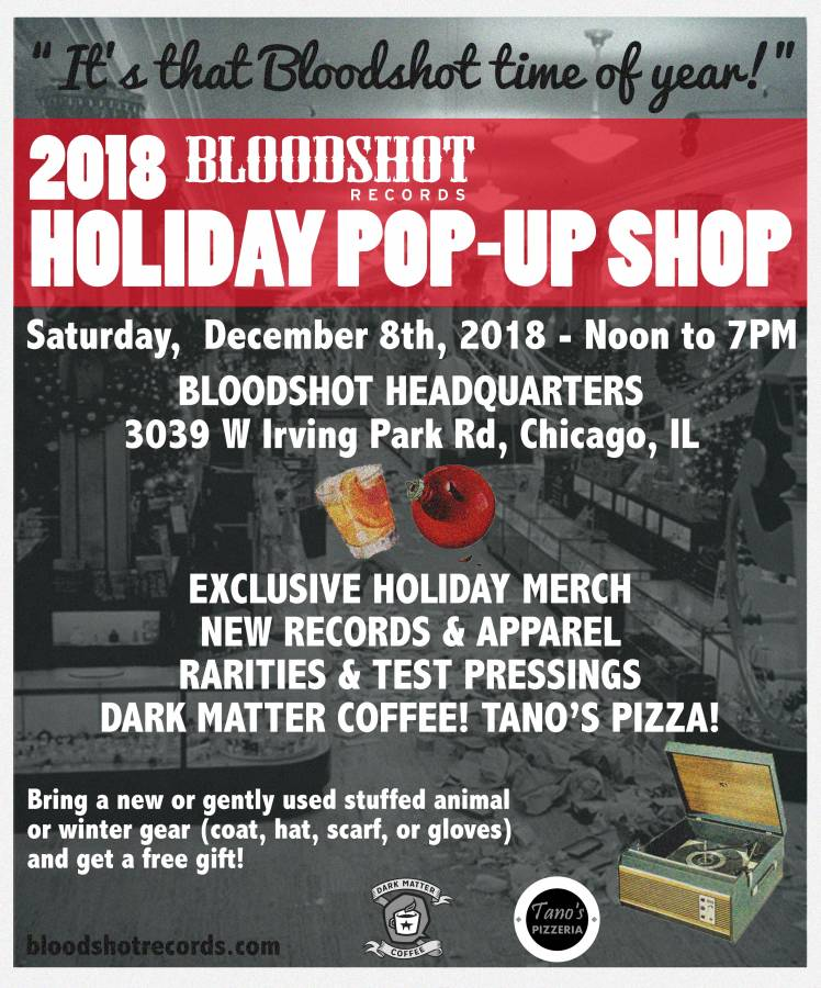 Bloodshot Holiday Pop Up Shop 2018