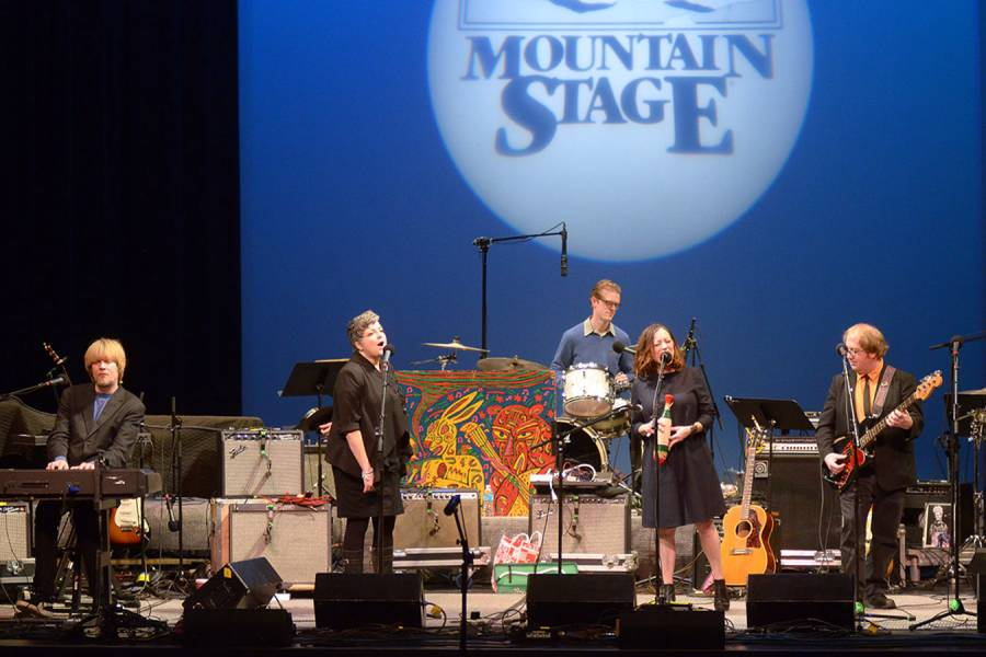 Flat Five NPR Mountain Stage Brian Blauser/Mountain Stage