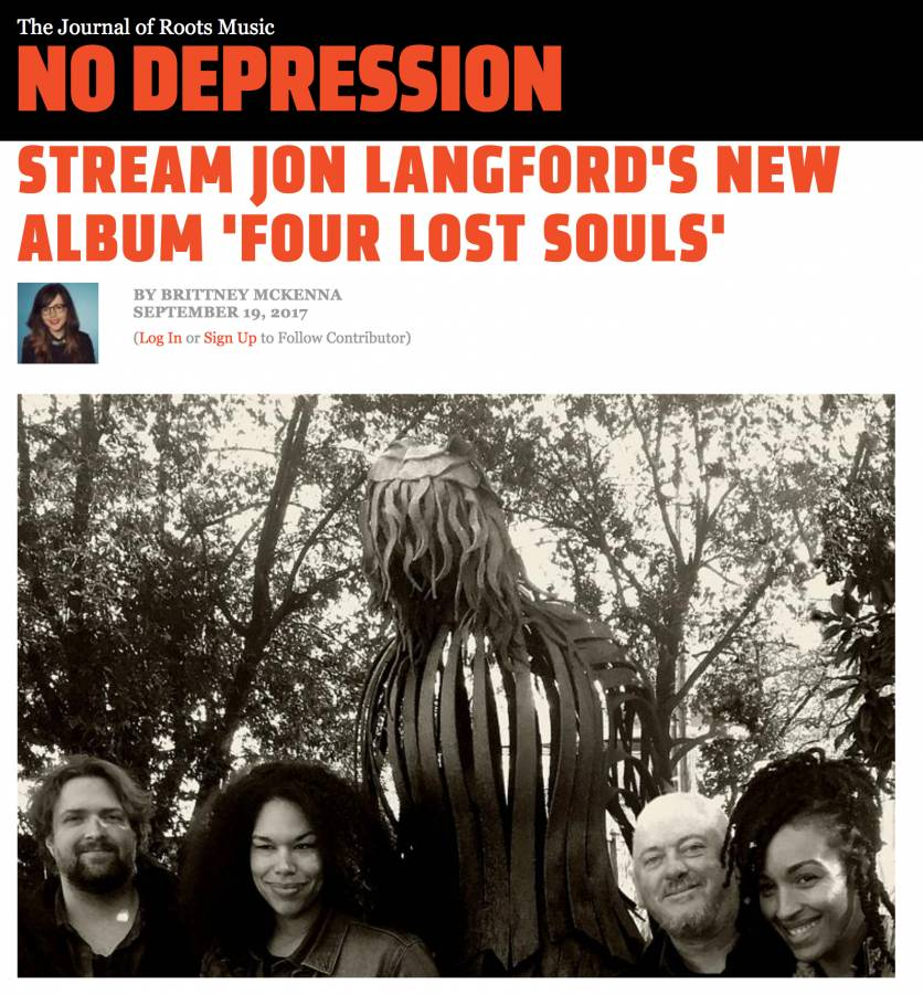 Jon Langford No Depression