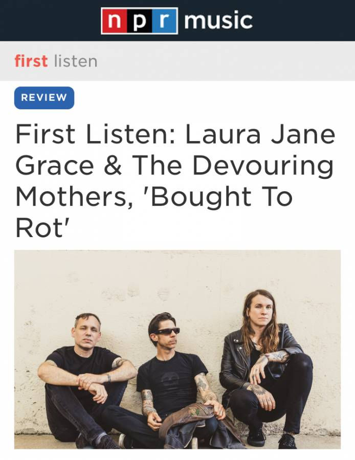 Laura Jane Grace Bought to Rot NPR First Listen
