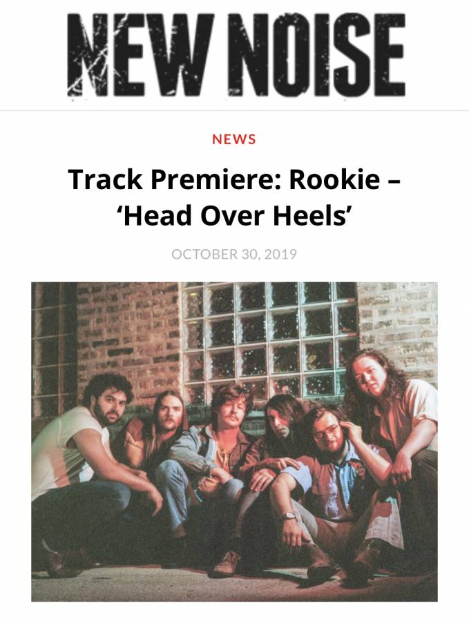 ROOKIE New Noise Head Over Heels Tears For Fears