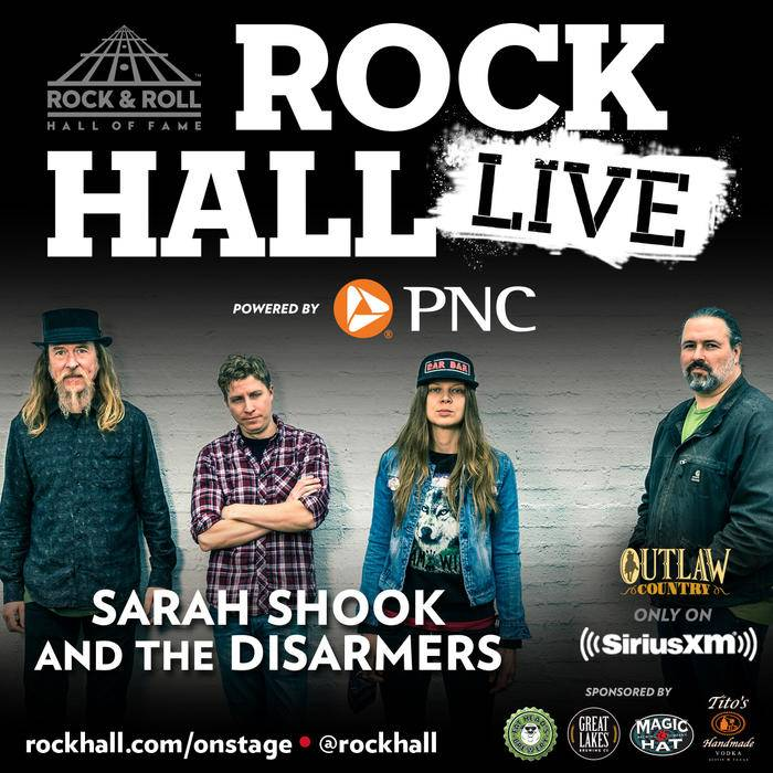 Sarah Shook Disarmers Rock and Roll Hall of Fame