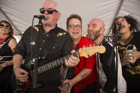 Waco Brothers Ruby Boots Jon Langford's Four Lost Souls T.Rex Yard Dog Art SXSW