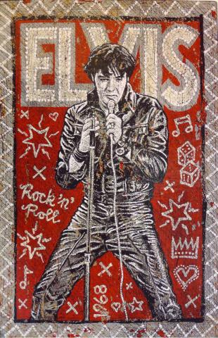 Jon Langford Elvis