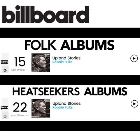Robbie Fulks Billboard Folk Heatseeker Chart