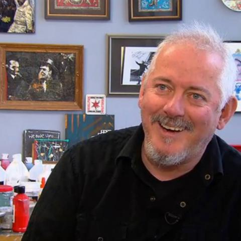 Jon Langford Chicago Tonight WTTW