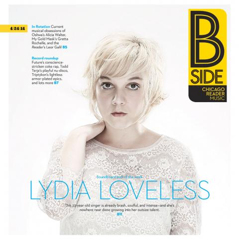 Lydia Loveless Chicago Reader Cover