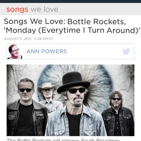 Bottle Rockets NPR Music