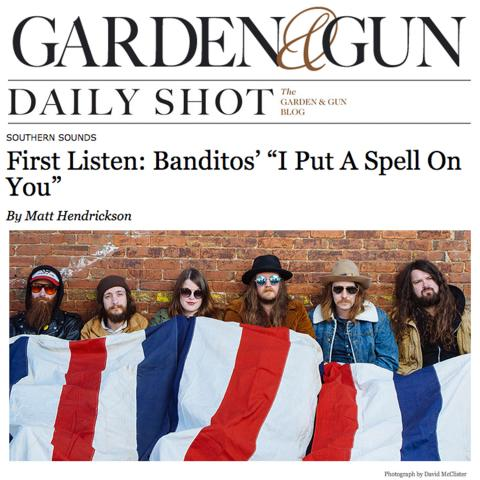 Banditos I Put a Spell On You Garden and Gun