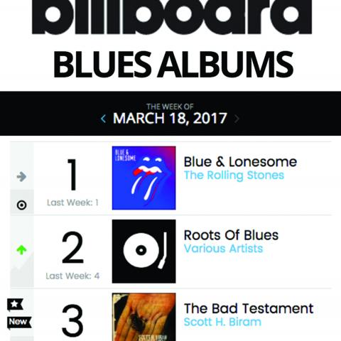 Scott H Biram Billboard Blues Chart