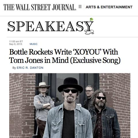 Bottle Rockets Wall Street Journal