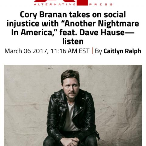 Cory Branan Alternative Press