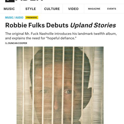 Robbie Fulks Upland Stories The Fader