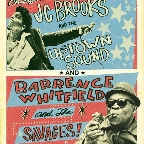 Bloodshot 20th Anniversary Rhythm Roots Ruckus JC Brooks Uptown Sound Barrence Whitfield Savages
