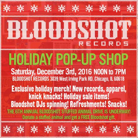 Bloodshot Records Pop Up Shop