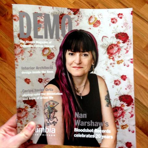 Nan Warshaw Demo Magazine cover
